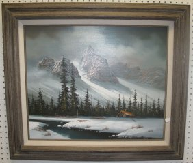 Original Oil Painting By Walter E. Westal