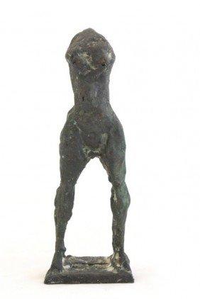 Attributed To Giacometti Bronze Sculpture