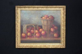 Albert Francis King Fruit Still Life Oil Painting