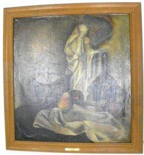 J. Marshall Still Life Oil Painting