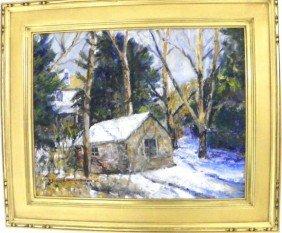 P. David Rauschenberger Oil Painting