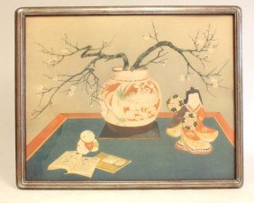 Chinese Still Life Watercolor Painting