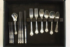 Group Lot Of Sterling Silverware