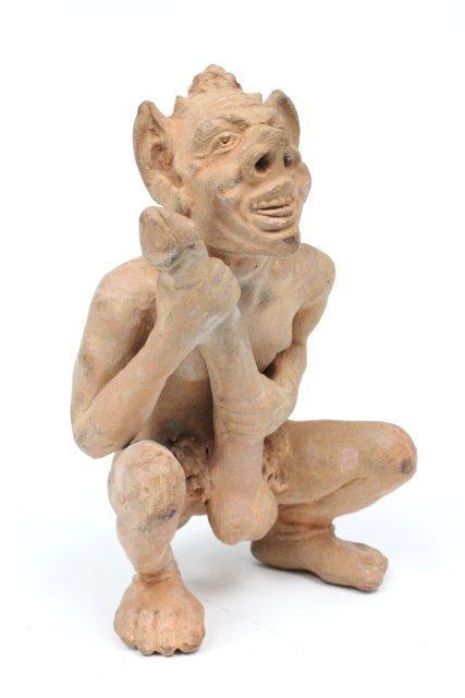 ancient priapus statue