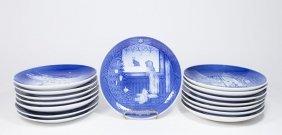 15 Bing & Grondahl Calendar Plates