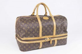 Vintage Louis Vuitton Softsided Train Case