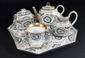 6-piece Porcelain Breakfast Set
