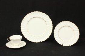 Royal Doulton Gilt Porcelain Partial Service