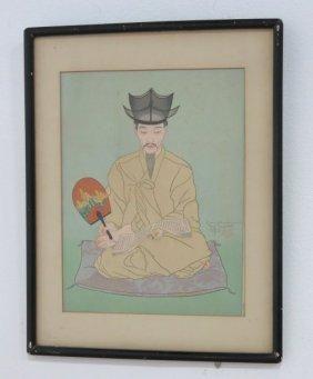 """Paul Jacoulet, """"les Vieux Manuscrits"""""""
