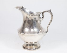 Poole & Co. Sterling Silver Pitcher