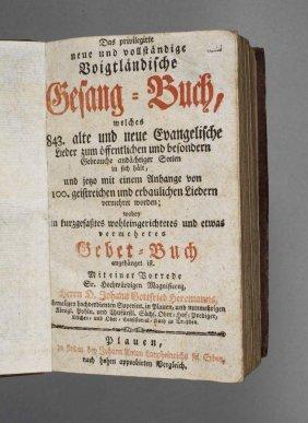 Gesangbuch Plauen 1790