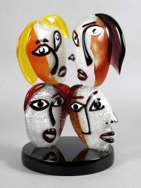 Alessandro Barbaro Skulptur Gesichter