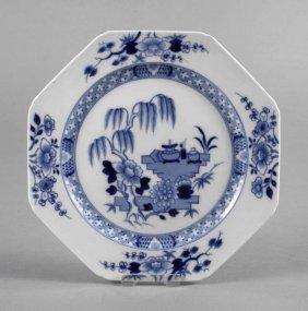 Meissen Teller Chinesische Blaumalerei