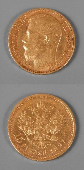 Goldmünze Russland 1897