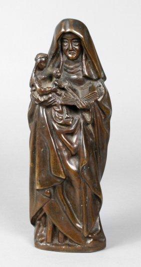 Bronze Anna Selbdritt