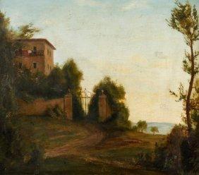 Hans Hausmann, Mediterrane Abendlandschaft