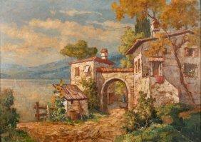Gottfried Arnegger, Am Gardasee