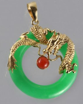 Ring-shaped Jade Pendant