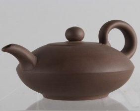 Four Characters Mark Zisha Teapot