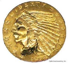 1928 $2 1/2 DOLLAR GOLD COIN