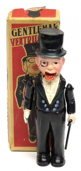 CELLULOID GENTLEMAN VENTRILOQUIST