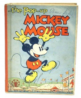 MICKEY MOUSE POP-UP BOOK