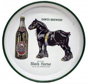 BLACK HORSE ALE PORCELAIN TRAY