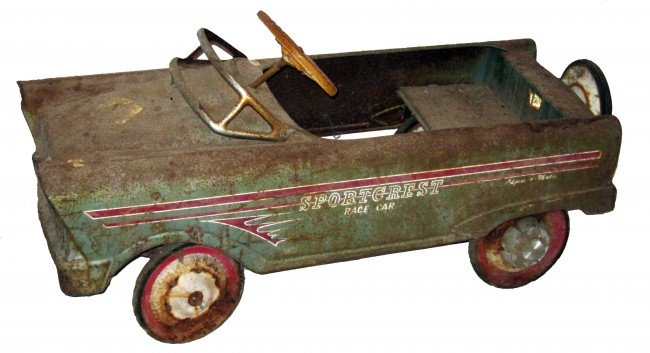 Murray Pedal Tractor Restoration : Murray sport crest pedal car lot