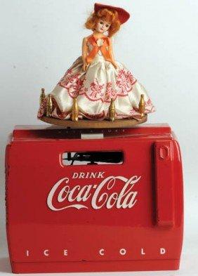1950's Coca-Cola Cooler Music Box