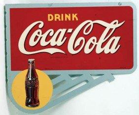 1940's Coca-Cola  Flange Sign