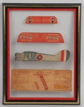 1928 COCA-COLA TOY AIRPLANE