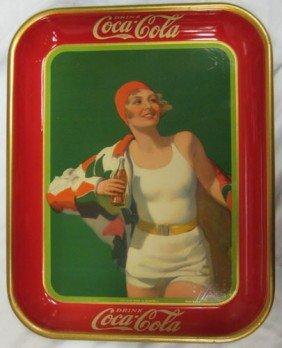1930 COCA-COLA SERVING TRAY