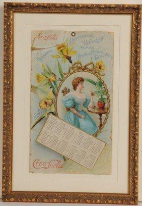 1898 COCA-COLA CALENDAR