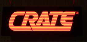 CRATE LIGHTED SIGN