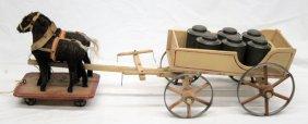 Milk Wagon Floor Toy