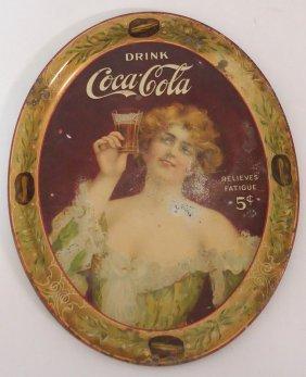 COCA-COLA SERVING TRAY 1907