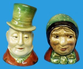 BESWICK MR. MICAWBER SALT & SAIREY GAMP PEPPER