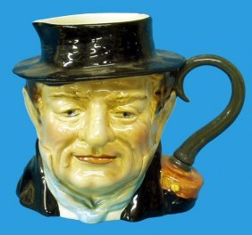 BESWICK CAPTAIN CUTTLE CHARACTER JUG #1120