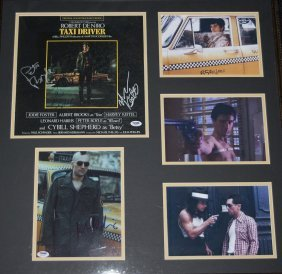 Taxi Driver Ost Album Cover Signed By Main Cast
