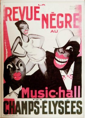 Revue Negre Au Music-hall Des Champs-elysees [h.