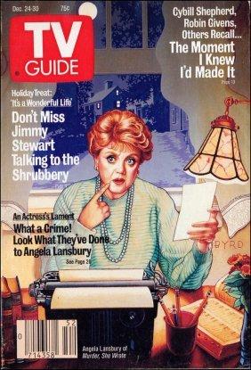 """angela Lansbury In 'murder She Wrote' "" (1987)"