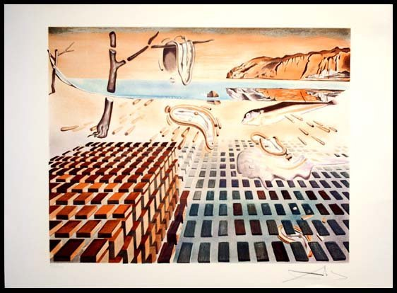 the persistence of memory and the disintegration of the persistence of memory essay The pitfalls of logic  or museum curators in this essay  salvador dalí's the disintegration of the persistence of memory (1952-54.
