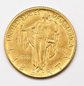 1926 Sesquicentennial $2.50 Gold Piece