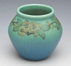 Rookwood Matte Vase 906e By Katherine Jones