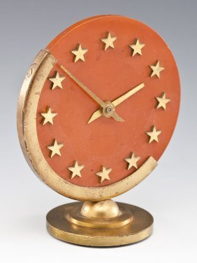 Art Deco Bakelite Seth Thomas Desk Clock