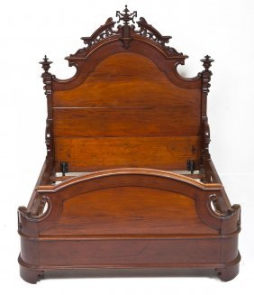 High Quality American Renaissance Revival Bed