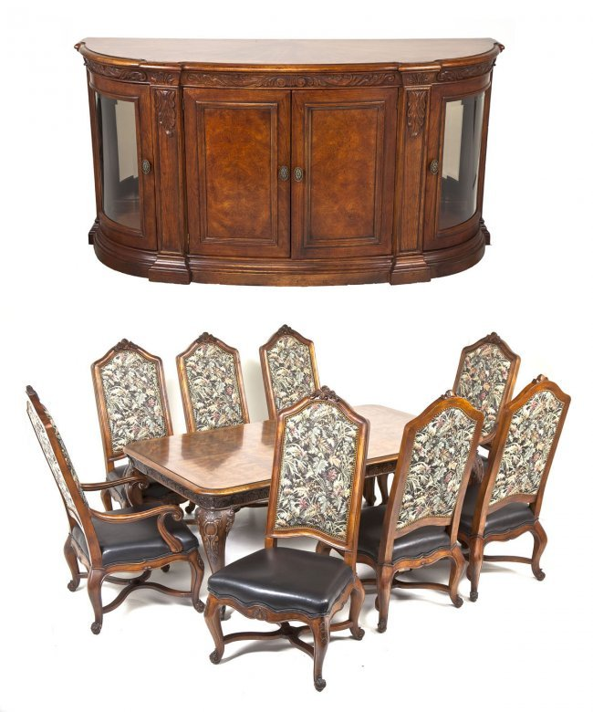 french revival dining room suite by henredon lot 486