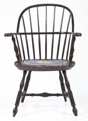 Pennsylvania Bowback Windsor Arm Chair