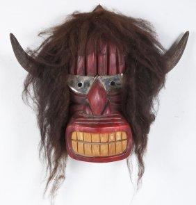 Iroquois Buffalo Mask