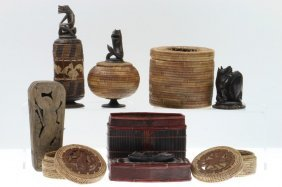 Seven Indonesian Containers